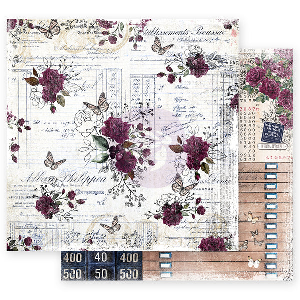 "PR-849443 Darcelle Collection 12""x12"" Sheet-t Just Wing It ペーパー"