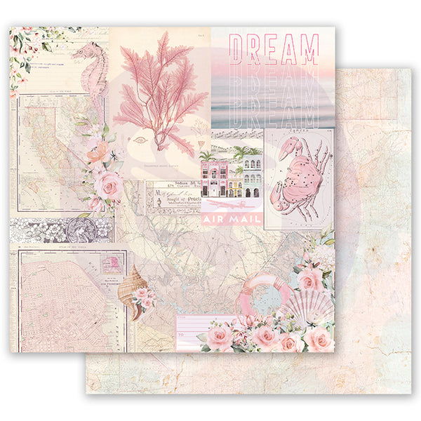 PR-995003 Golden Coast 12x12 Sheet - California Dreaming ペーパー