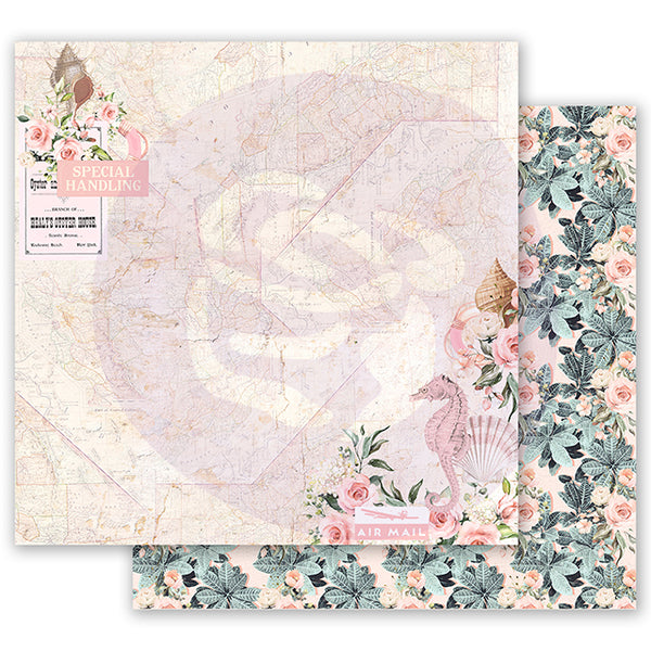 PR-995034 Golden Coast 12x12 Sheet - Golden Heart ペーパー