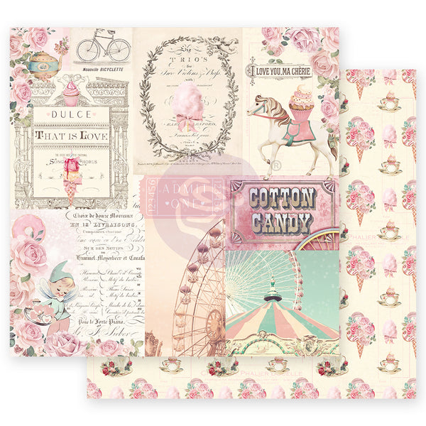 "PR-995584 Dulce Collection 12""x12"" Sheet- Dulce Sueño ペーパー"