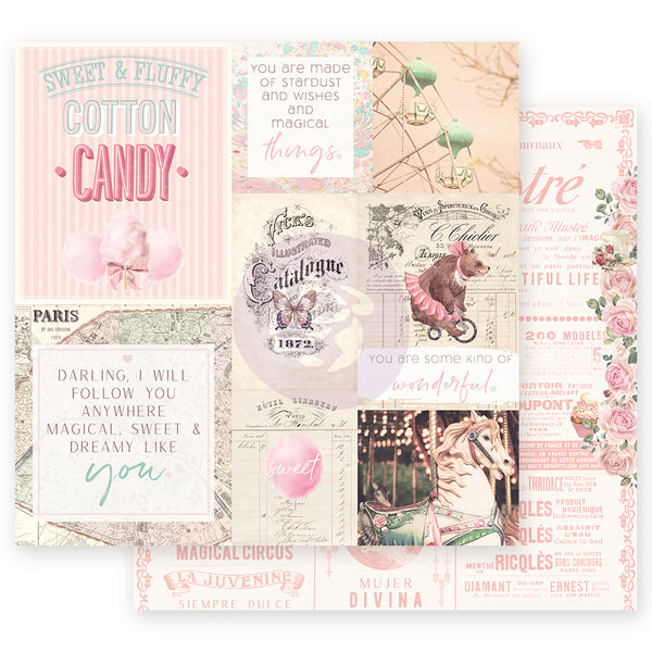 "PR-995638 Dulce Collection 12""x12"" Sheet-  Some Kind Of Wonderful ペーパー"