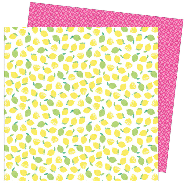 Patterned Paper - AC - DML - Write At Home - 12x12 - Main Squeeze 355275