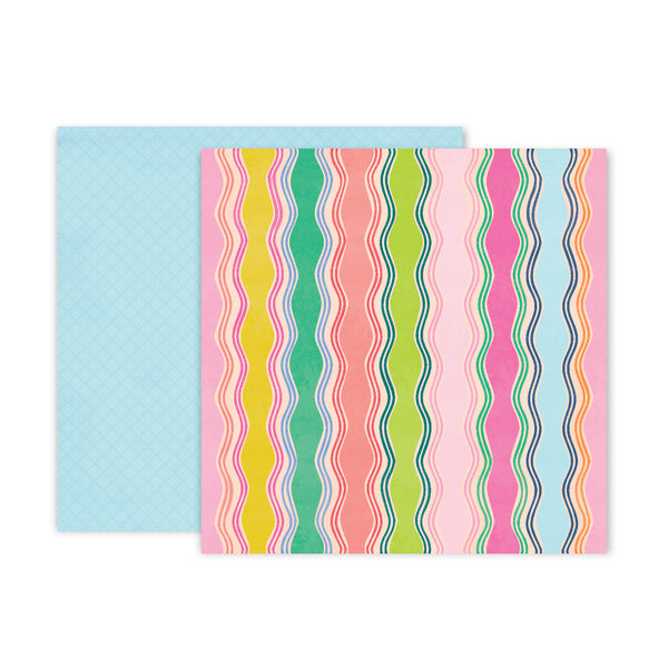 Patterned Paper - PP - PE - Horizon - 12 x 12 - Paper 8 310763