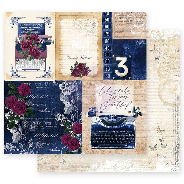 "PR-849429 Darcelle Collection 12""x12"" Sheet- Plot Twist ペーパー"