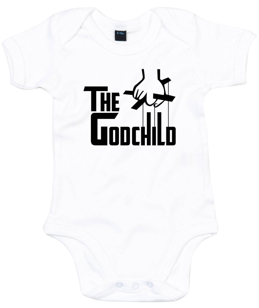 7b0e72afc ... The Godchild, Godfather Baby Grow, Bodysuit, baby onesie, Trendy Funny  Baby outfit