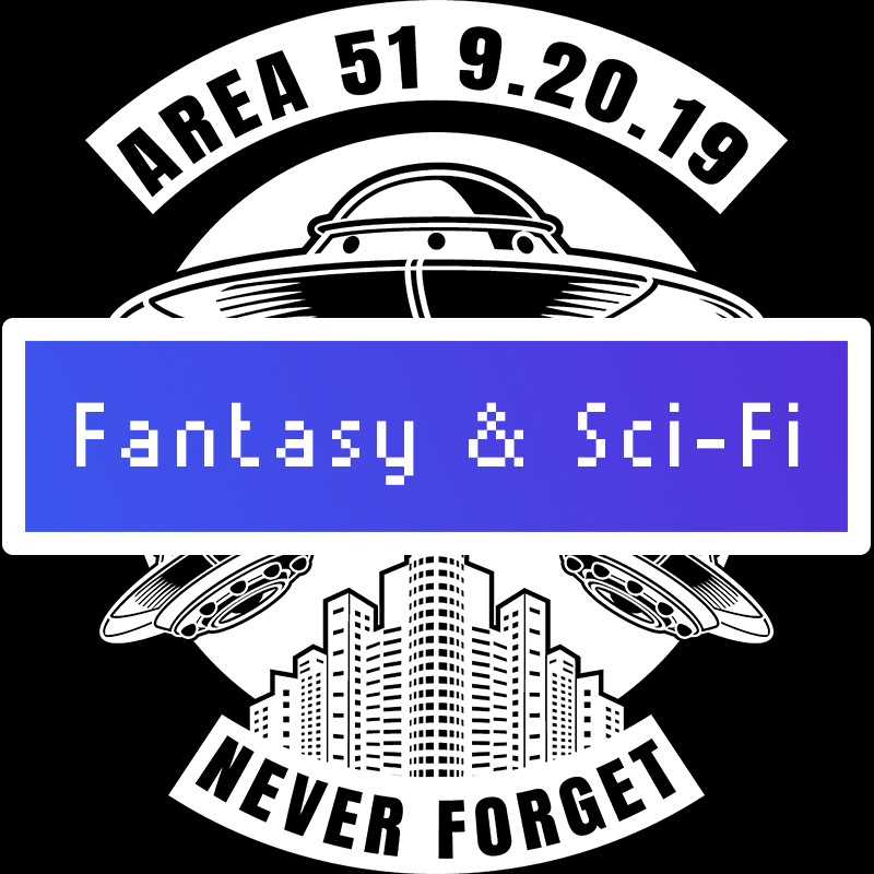 fantasy and scifi  Category Title Card