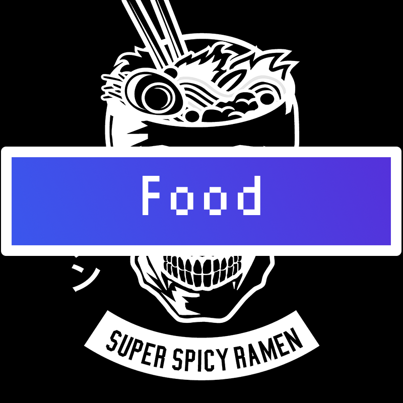 food Category Title Card