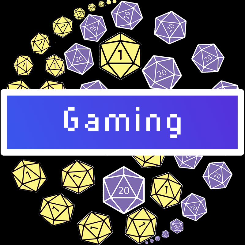 gaming  Category Title Card