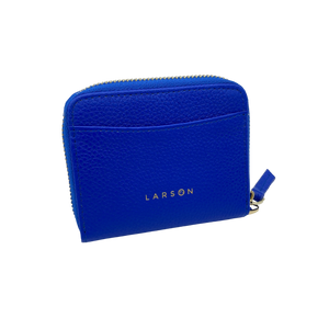 Larson Zip Around Leather Wallet - Royal Navy