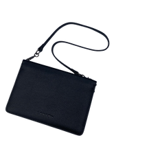 Load image into Gallery viewer, Larson Leather Wallet on a Chain - Black