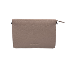 Load image into Gallery viewer, Larson Studded Leather Wallet on a Chain - Classic Taupe