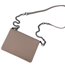 Load image into Gallery viewer, Larson Leather Wallet on a Chain - Classic Taupe