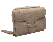 Load image into Gallery viewer, Larson Zip Around Leather Wallet - Classic Taupe