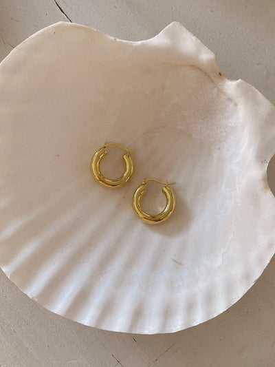 Lira Hoop Earrings