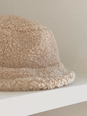 Milk Wool Bucket Hat