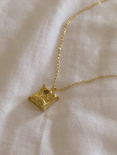 Square Nugget Necklace