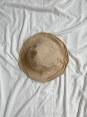Wheat Linen Bucket