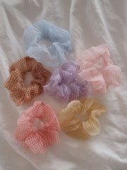 Plaid Lyra Scrunchies