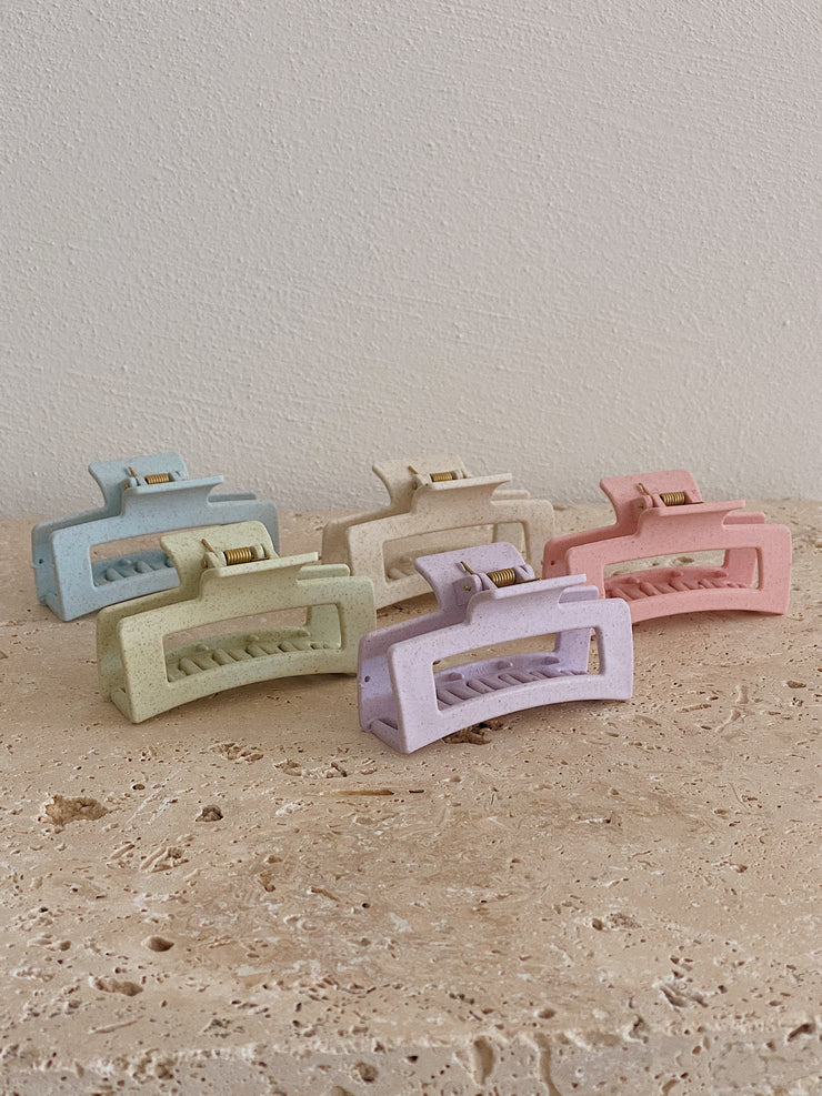 Zella Speckle Clips