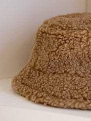 Chocolate Wool Bucket Hat