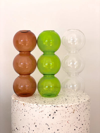 Glass Bubble Vases