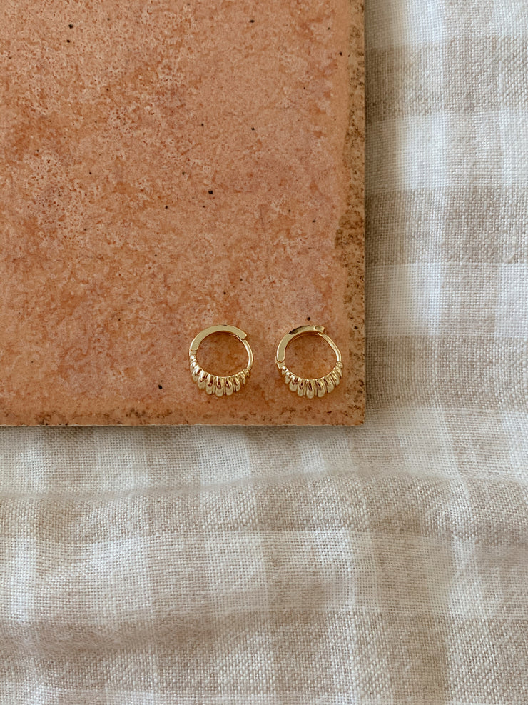 Apia Gold Earrings