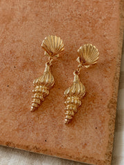 Cerith Shell Earrings