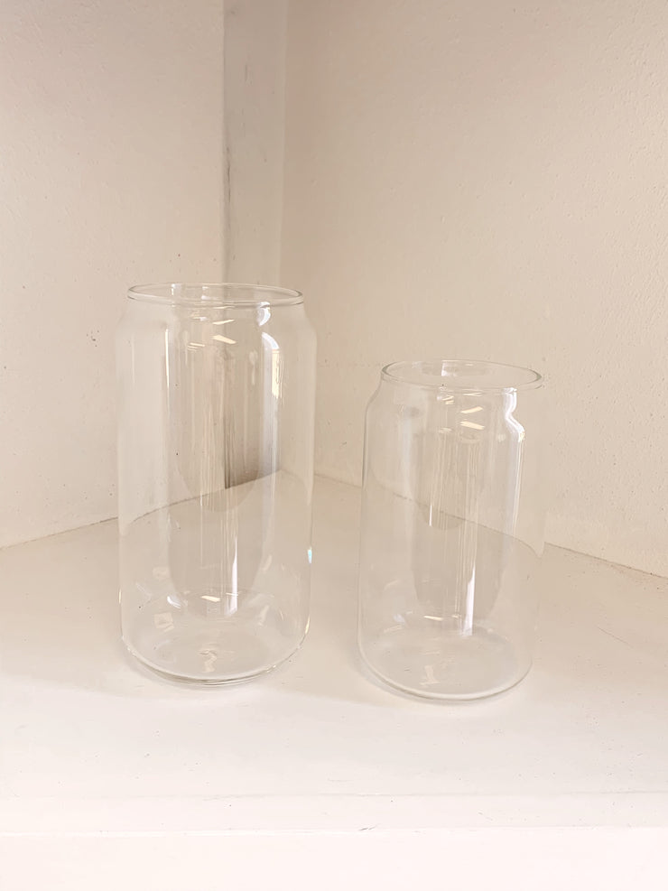 Glass Can Shape Tumbler