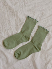 Adult Cotton Ruffle Socks