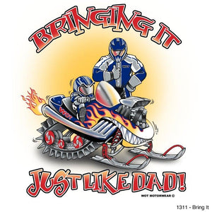 """Bring It"" - Kids T-Shirt - wot-motorwear"