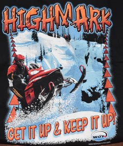 """Highmark"" - Men's Snowmobile T-Shirt - wot-motorwear"