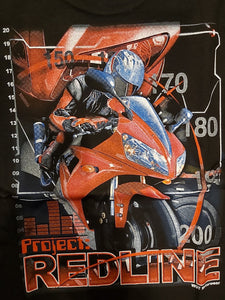 """Redline"" - Men's Motorcycle T-Shirt"
