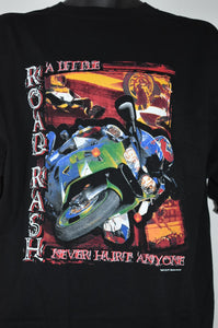 """Road Rash"" - Men's Motorcycle T-Shirt"