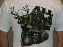 "Load image into Gallery viewer, ""Day's Work"" - Men's ATV T-Shirt - wot-motorwear"