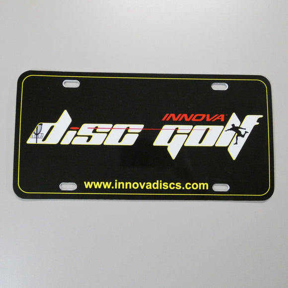 Innova Disc Golf License Plate