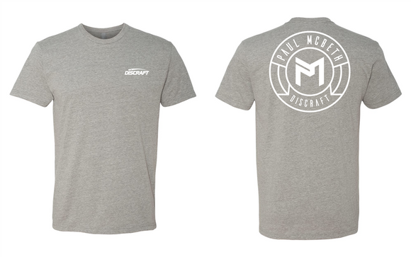 Paul McBeth Circle Logo Tee Shirt
