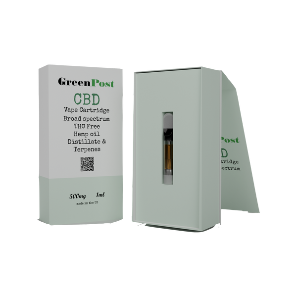 CBD Vape Cartridge 500 MG - OG Kush Hybrid