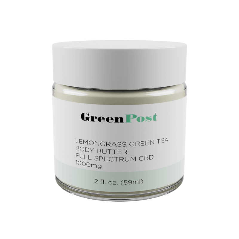 Lemongrass Green Tea Body Butter 1000MG