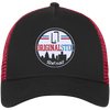 Black/Scarlet / One Size - New Era® Trucker Hat - Original Stix