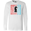 White / Small - Cheque Mate Long Sleeved Tee - Original Stix - 1