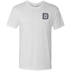 Heather White / Small - DK65 Men's Triblend Tee - Original Stix - 2