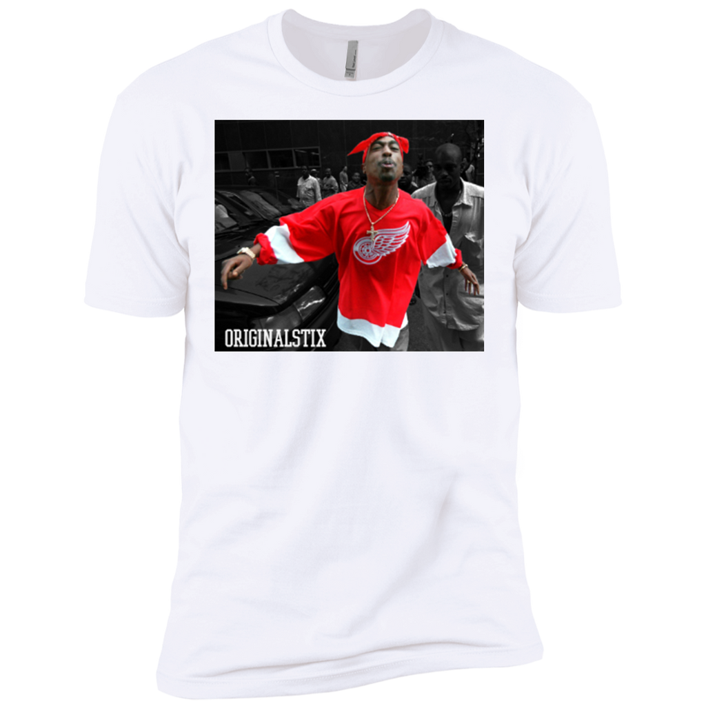 White / Small - Makaveli Tee - Original Stix - 1