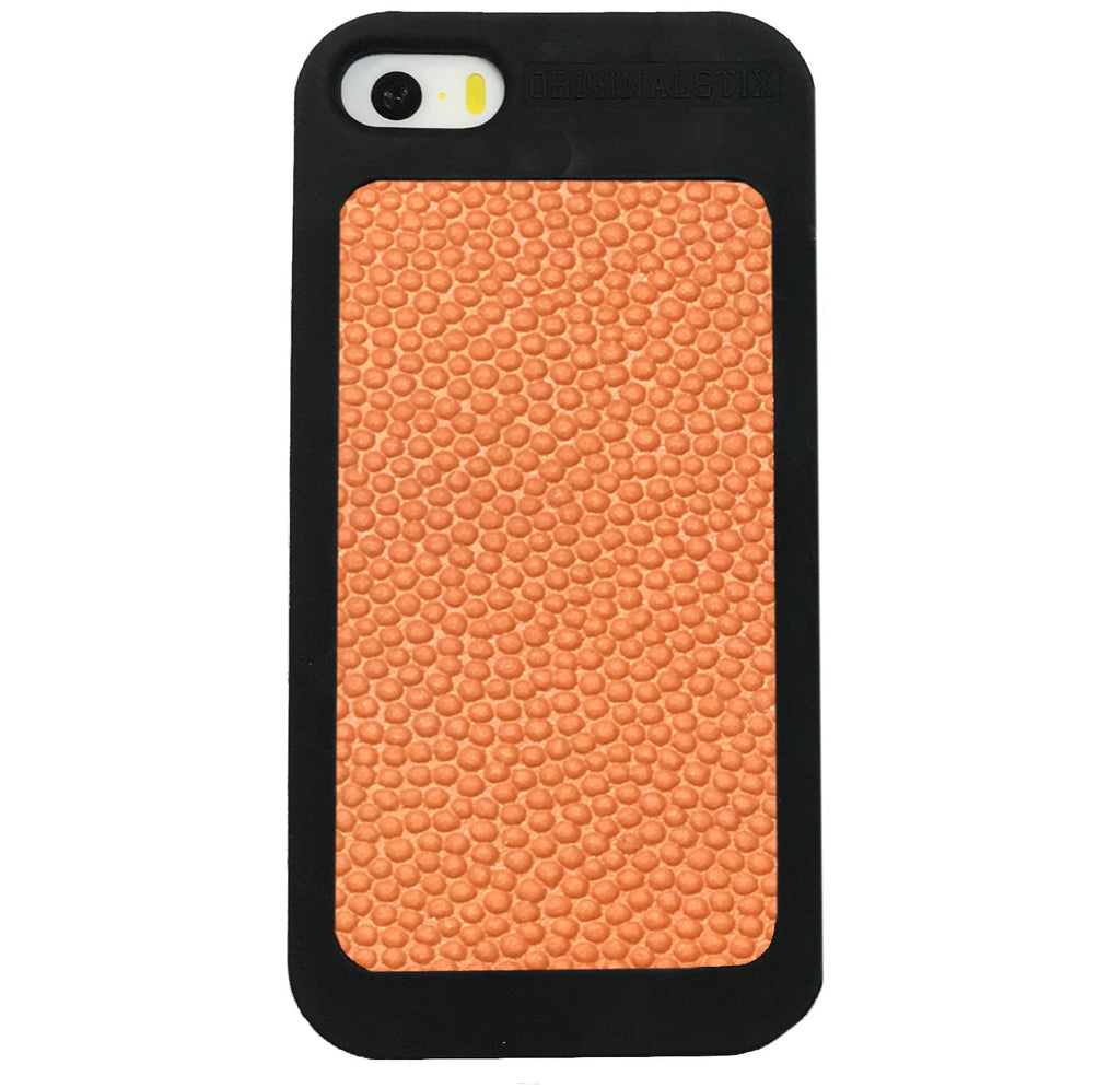 iPhone 5 / 5S / SE - Authentic Basketball Leather Phone Cases - Original Stix - 1