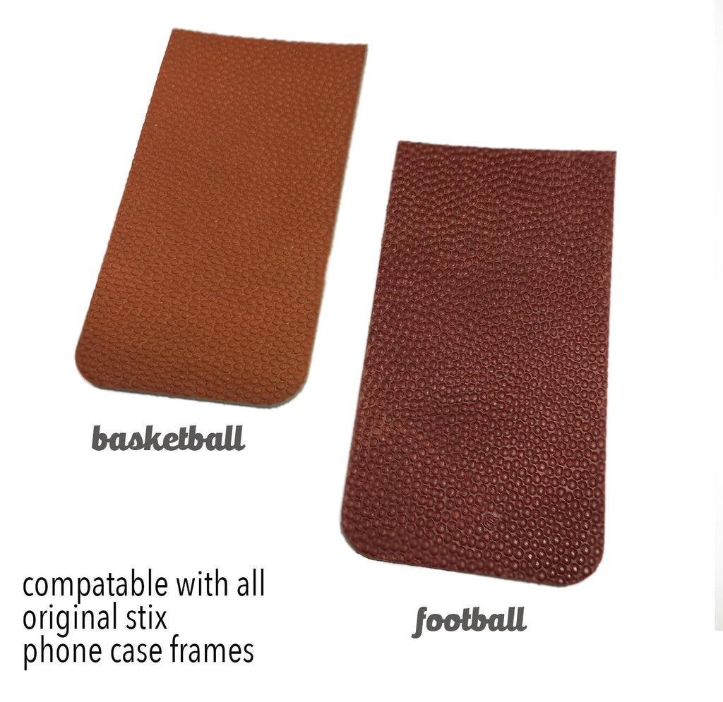 - Authentic Game-Ball Leather Panels - Original Stix