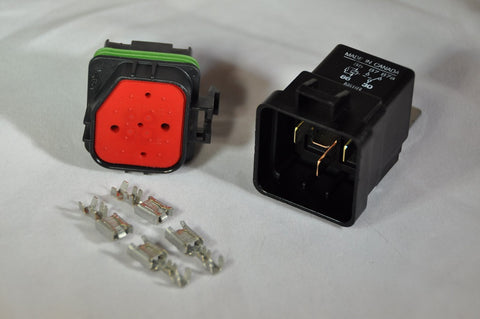 water tight relay assembly