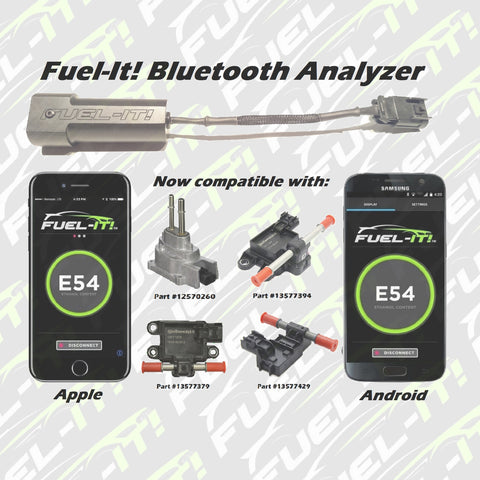 Fuel-It bluetooth flex fuel e85 alcohol content adapter
