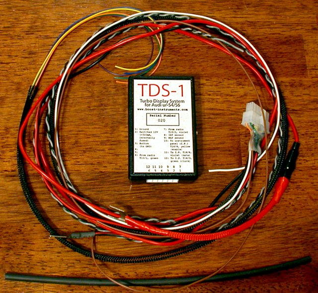 TDS-1 Instrument Cluster display system for the ur s4/s6