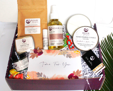 natural organic gift sets for women her sister mom
