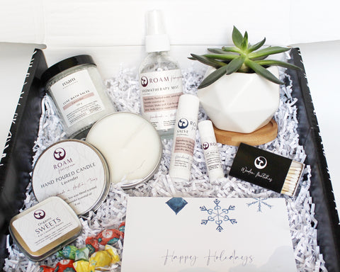 holiday succulent gift box for couples