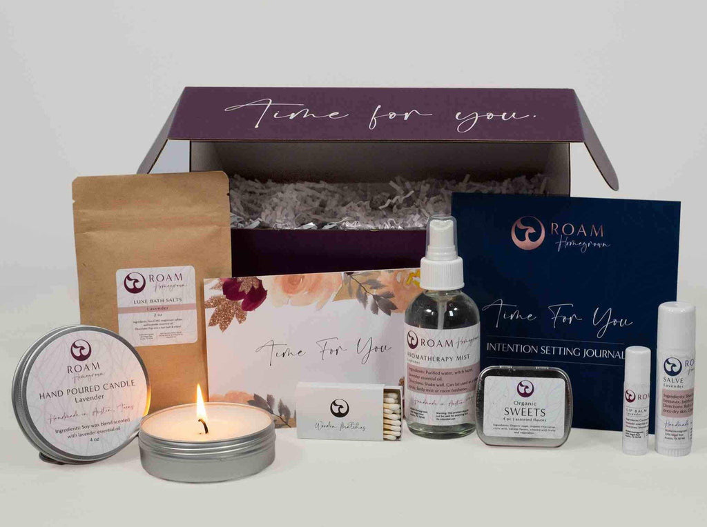 self care gift box for woman